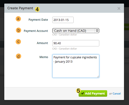 fill-in-create-payment-details-for-the-bill