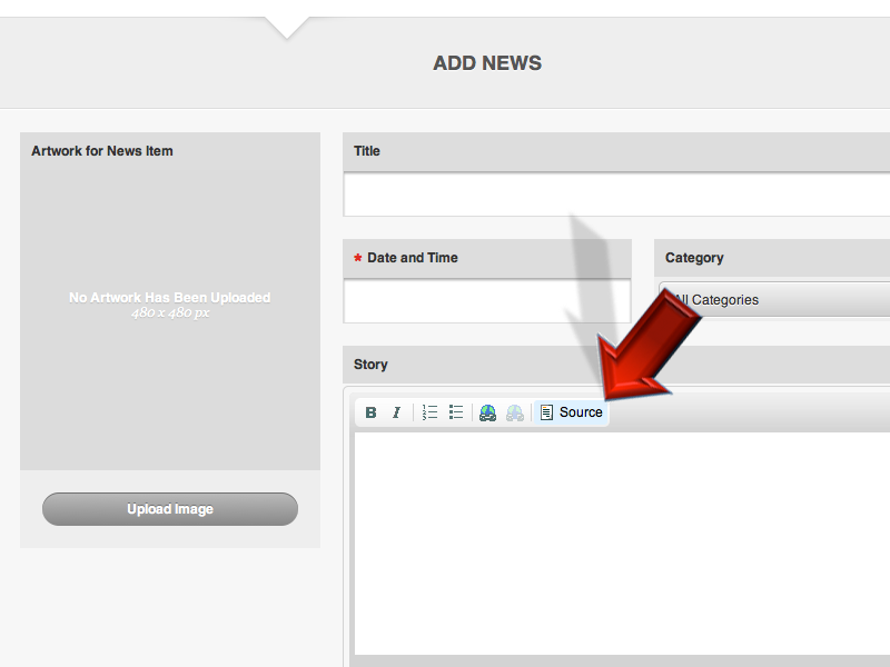 1._Login_to_the_CMS_and_go_to_Build._Select_a_Section__such_as_News__and_click_Add_Content.png