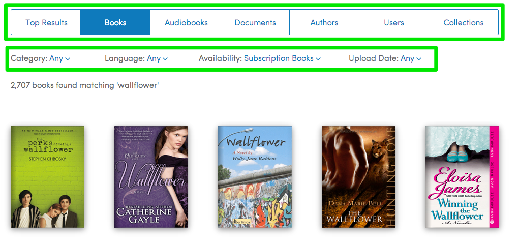 Books_matching__wallflower____Scribd.png