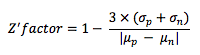 Z'-factor calculation